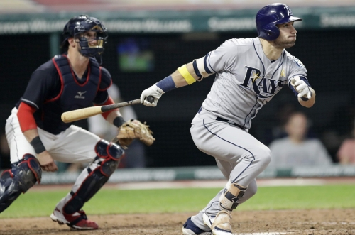 Marc Topkin's takeaways from Saturday's Rays-Indians game