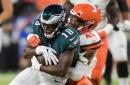 Philadelphia Eagles announce first regular season depth chart ahead of Week 1 Falcons game