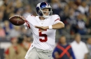 """Giants news, 9/5: Davis Webb """"didn't agree"""" with Giants, has """"moved on"""""""