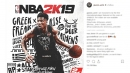Giannis Antetokounmpo is honored to be on the cover of NBA 2K19