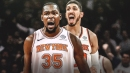 Enes Kanter is already making Knicks recruiting pitches to Kevin Durant