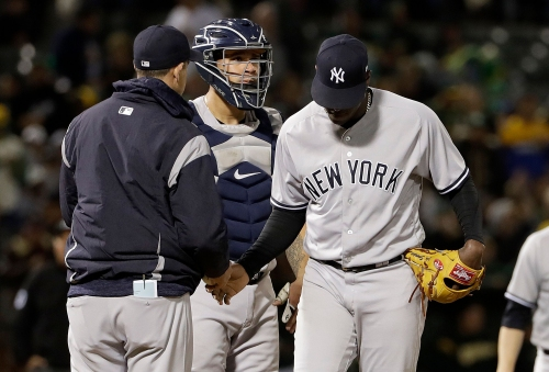 Inside New York Yankees' first-inning communications lapse between Luis Severino and Gary Sanchez