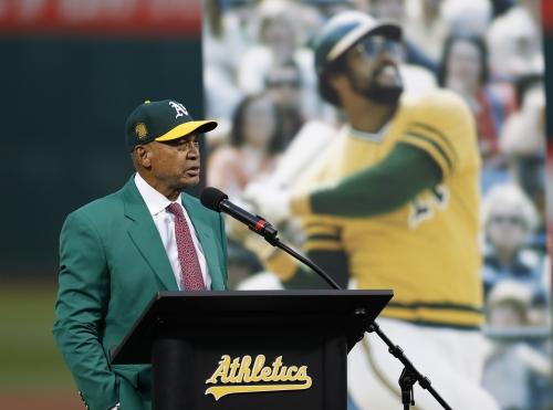"""Reggie Jackson on possibility of A's leaving Oakland: """"It would break my heart"""""""