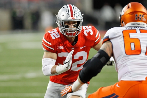 Building Tuf Borland: How a hand-fighting, name-changing, fast-healing linebacker became the heart of Ohio State's defense