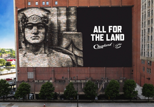 Replacement for LeBron James banner will feature thousands of everyday people - not one superstar