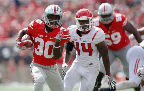 Rain and plenty of clouds for Ohio State Buckeyes vs. Rutgers football: Game day weather forecast
