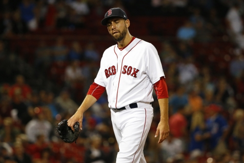 Matt Barnes injury: Boston Red Sox reliever's MRI reveals left hip inflammation, out indefinitely