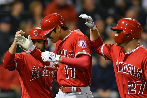 Felix Pena's quality start and Ohtani's 3 run bomb lift the Angels over the White Sox
