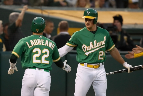 Move over Bash Brothers: A's rookie sets new franchise mark in win