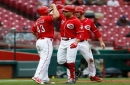 Joey Votto hits first home run since July, Matt Harvey strikes out 10 in Cincinnati Reds win