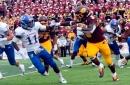Central Michigan ends Kansas' 46-game road losing streak, 31-7