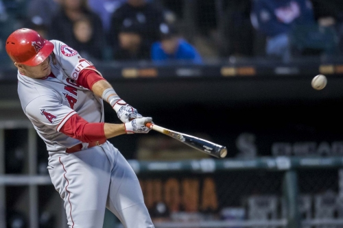 Angels 12, White Sox 3: Trout gonna Trout