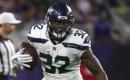 WATCH: Seahawks' Chris Carson hurdles Broncos' Bradley Roby during 24-yard run