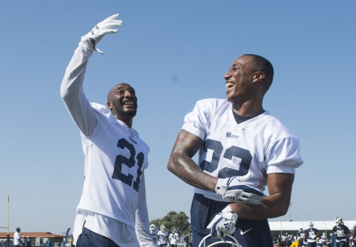 For new Rams corner Marcus Peters, perception is a line often blurred