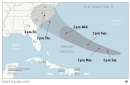 The Latest: US Marines' base could be near storm's bulls-eye