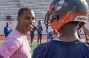 NY Giants, Victor Cruz donate $20K to two Paterson high schools for football equipment
