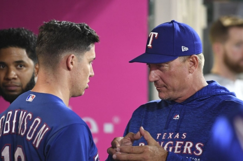 62-83 - No no-no for bullpenning Halos, Rangers still fall 1-0