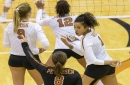 Stanford sweeps Longhorns volleyball team in top-10 clash