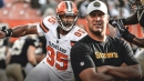 Steelers QB Ben Roethlisberger didn't think there was 'anything wrong' with Myles Garrett's hit