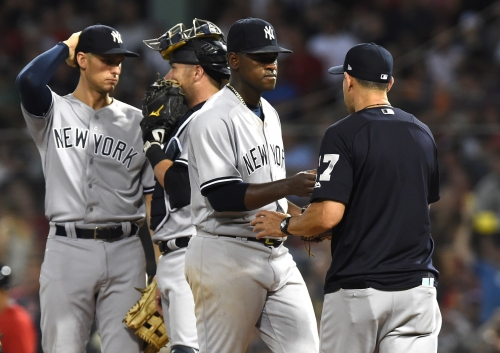 New York Yankees feeling the heat as the A's take dead-aim at their wild card lead
