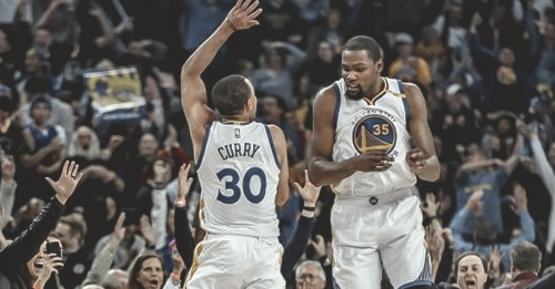 Kevin Durant, Stephen Curry in Top 3 of Sports Illustrated's Top 100 NBA players list