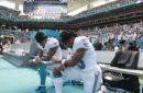 'We're not going anywhere': Stills will continue kneeling