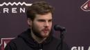 Arizona Coyotes center Alex Galchenyuk talks about his trade