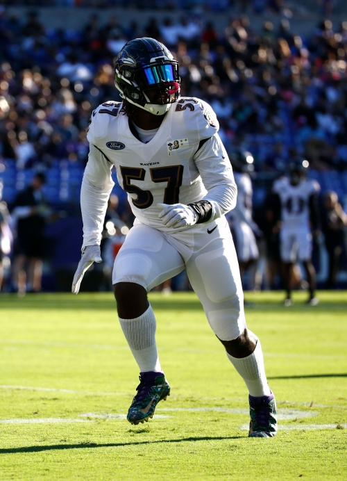 Baltimore Ravens linebacker C.J. Mosley carted off with knee injury