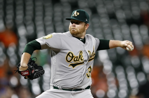 Brett Anderson hit around in return from disabled list as A's fall to Orioles