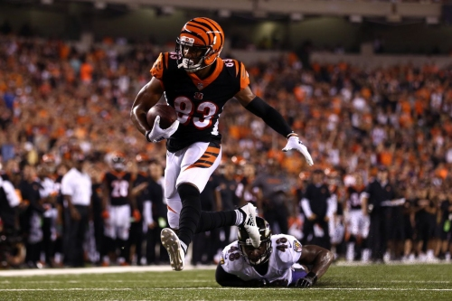 The Bengals reached a big scoring milestone against the Ravens