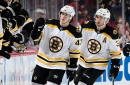 Boston Bruins injuries: Patrice Bergeron (back spasms), Torey Krug (ankle) won't skate with team at start of camp