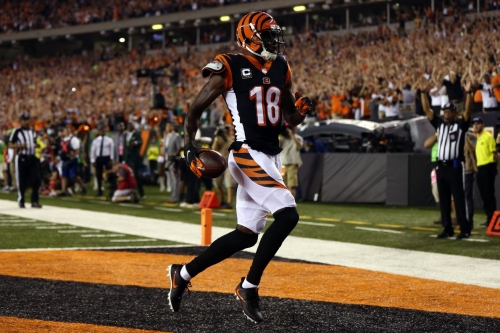 A.J. Green reintroduces himself to the NFL with 3 touchdowns in primetime