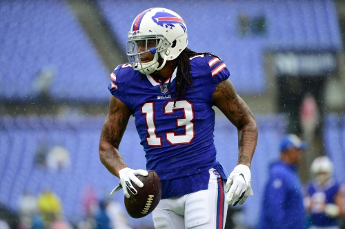 Kelvin Benjamin on the Bills' loss to the Ravens: 'I don't think it was that bad.'