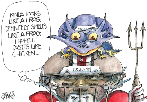Ohio State Buckeyes vs.TCU Horned Frogs winner gets jump on College Football Playoff: Crowquill