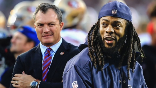 49ers CB Richard Sherman says GM John Lynch would be banned in today's NFL