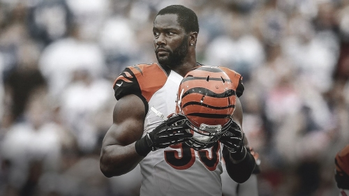 Bengals DE Michael Johnson expected to miss a few weeks with knee injury
