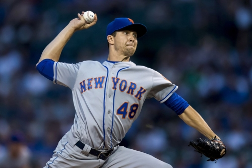 Report: Milwaukee Brewers were one of five teams that checked in on Jacob deGrom this summer