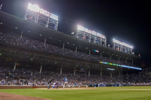 The city of Chicago's prohibition on Friday night games at Wrigley is antiquated and needs to end