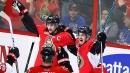 Senators awake to double whammy of Karlsson, Pageau