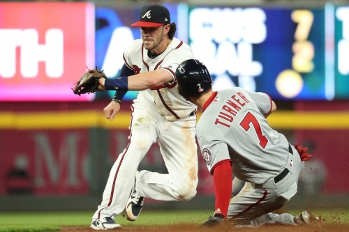 Nationals can't recover from shaky Max Scherzer start in 10-5 loss to Braves...