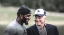 Cowboys owner Jerry Jones claims he didn't talk football with Dez Bryant at Beyonce concert