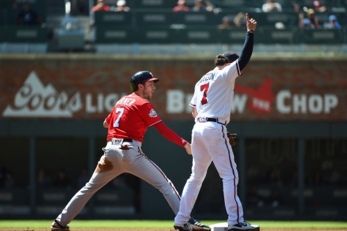 Walks haunt Braves in 7-1 loss to Nationals