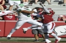 North Texas stuns Arkansas in 44-17 rout