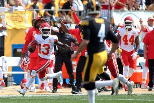 Steelers vs. Chiefs Week 2: 1st quarter in-game update
