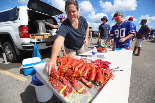 Buffalo Bills tailgating pictures from 2018 home opener
