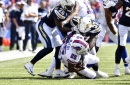Buffalo Bills running back LeSean McCoy leaves game against Los Angeles Chargers following injury