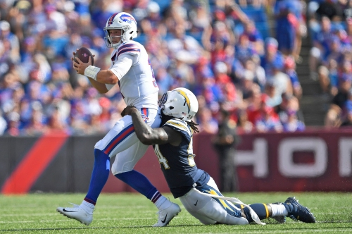 Josh Allen makes his NFL starting debut, but Bills get outclassed again
