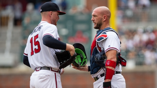 Newcomb chased early as Braves drop series to Nats