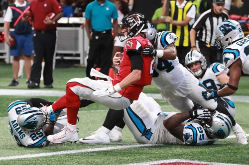 At a needed time, the Falcons - and Sarkisian - have a big day