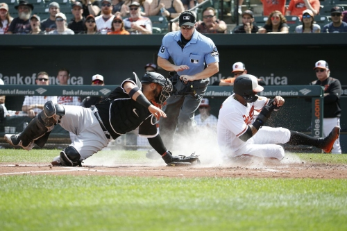 No sweep for you! Orioles 8, White Sox 4